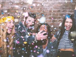 konfetti na imprezę